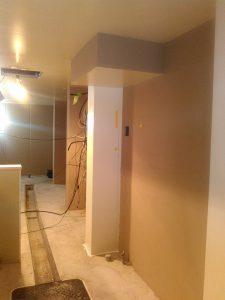 厨房内塗装工事